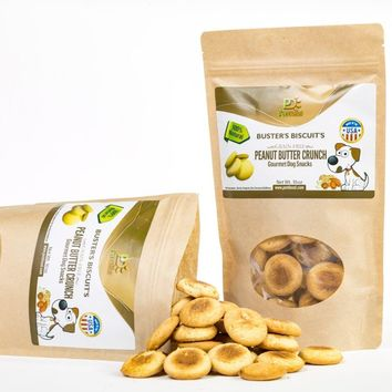 All Natural & Healthy Dog Peanut Butter Crunch Treats
