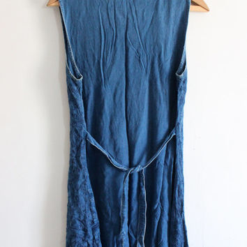 Indian Indigo Mini Dress