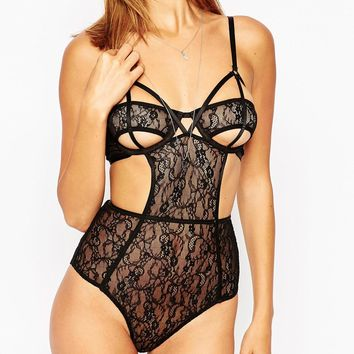ASOS Risky Business Lace Body