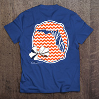 Florida Bow State - White & Orange