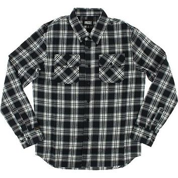 Grizzly Tundra Button-up Longsleeve XLarge Black Plaid