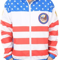 American Flag Windbreaker | Tipsy Elves