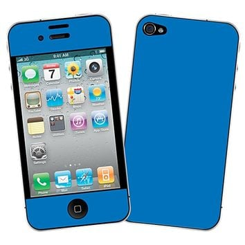 Blue Skin for the iPhone 4/4S by skinzy.com