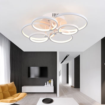 Led Light Modern Ceiling Dimming Lamp