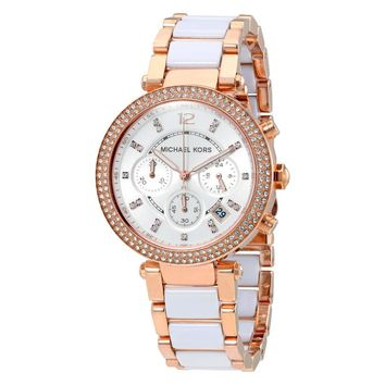 MICHAEL KORS MK5774 Ladies Rose Gold Parker Watch