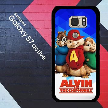 Alvin And The Chipmunks R0317 Samsung Galaxy S7 Active Case