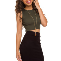 Sandra Pencil Skirt - Black