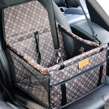Double Thick  Travel Accessories  Mesh Hanging Bags Folding  Pet Supplies Waterproof Dog Mat Blanket Safety  Pet Car Seat Bag