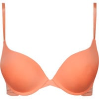 Cross Front Push Up Bra Neon  In Sizes