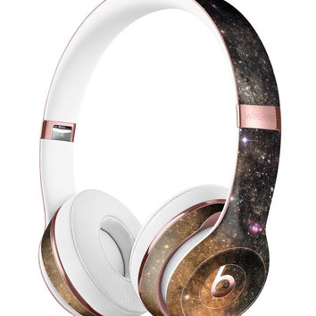 Gold Aura Space Full-Body Skin Kit for the Beats by Dre Solo 3 Wireless Headphones