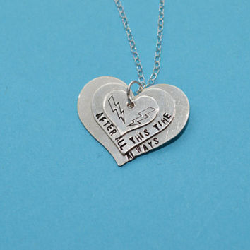 CLEARANCE always sterling silver filled heart necklace