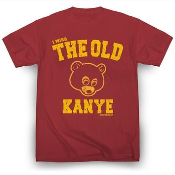 I Miss the Old Kanye West T-Shirt Hip-Hop Kim Kardashian Kendrick Lamar Drake Men High Quality Tees top tee Fashion Style