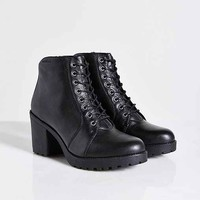 Vagabond Grace Plush-Lined Boot- Black