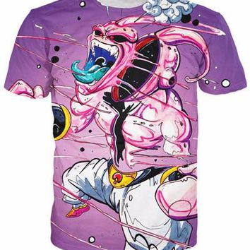 Dragon Ball Z Japanese 3D Short Sleeve Anime T-Shirt V9