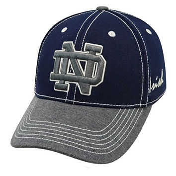 "Notre Dame Fighting Irish NCAA Top of the World ""High Post"" Memory Fit Flex Hat"