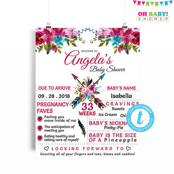 shop welcome baby shower signs on wanelo