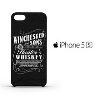 Supernatural winchesters whiskey F0018 iPhone 5 | 5S Case