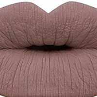 Liquid Matte Lipstick Nude Natural Long Lasting