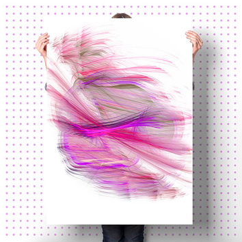 Abstract Wall Art | Digital Print | Purple DIY Home Decor | Unique Gift | Apartment Warming Gift
