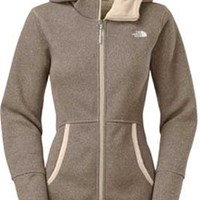 Gliks - The North Face Banderitas Hoodie for Women in Oatmeal Heather
