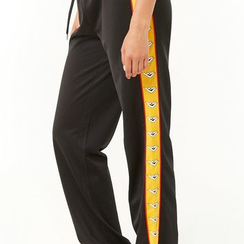 Pony Drawstring Track Pants