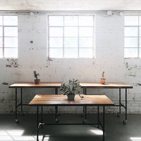 Industrial Table | Work Station | Display Table | Dining Table | Kitchen Island