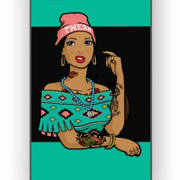 Pocahontas Hipster for iPhone 4/4S Case **