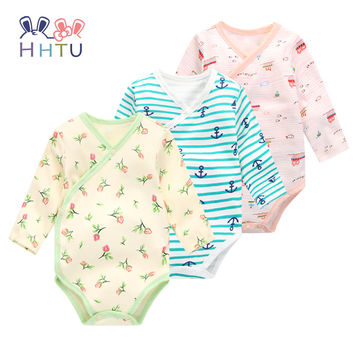 HHTU Baby Rompers Newborns Clothes Baby Clothes Lovely for Spring and Autumn to Jumpsuits Gril &Boy Climb Clothes