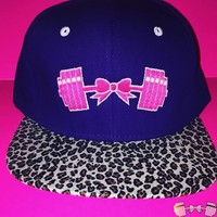 FFAB Purple Cheetah Snapback