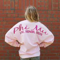 Phi Mu Greek Preppy Jersey
