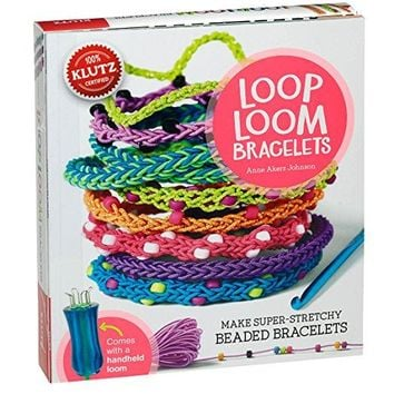 Loop Loom Bracelets: Make Super-Stretchy Beaded Bracelets