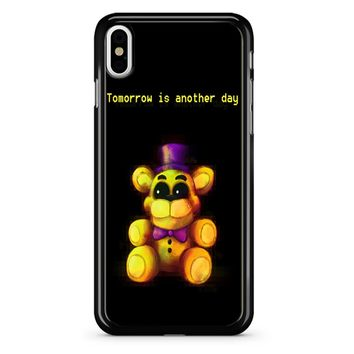 Five Nights At Freddy Fnaf 4 Tomorrow iPhone X Case