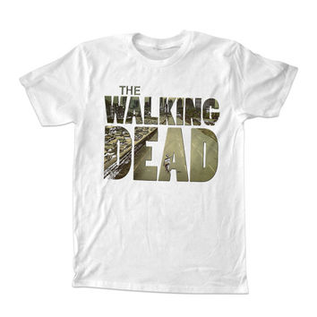 the walking dead logo T-shirt unisex adults