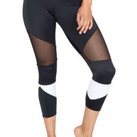 Cut-Out Capri Legging
