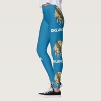 Leggings with flag of Oklahoma State, USA