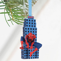 Disney Store Marvel Spider- Man 2016 Sketchbook Christmas Ornament New with Tags
