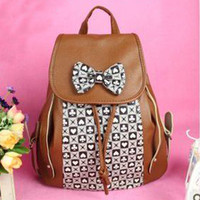 Cool Bowknot Backpack Bag on Luulla