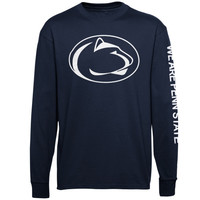 Penn State Nittany Lions Mascot Pride Long Sleeve T-Shirt – Navy Blue
