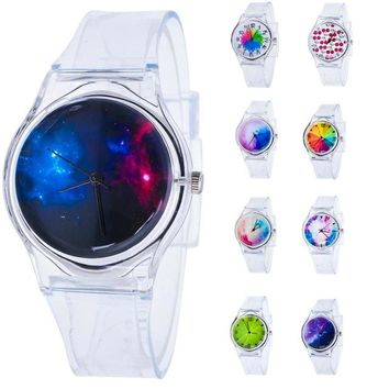 NEW Arrivals Children Kids Watches Lovely Fashion Classical Fashion Colorful The Jelly Students Watch Girls Watch