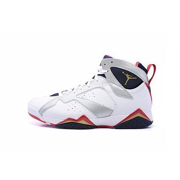 hcxx Air Jordan 7 Retro  Olympic  2012