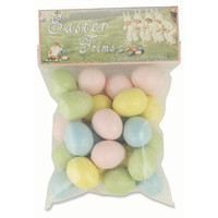 Pastel Eggs, Green, Set of 24, Fillers
