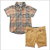 Boys 2 PC Summer Shorts + Shirt