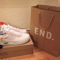 Nike x Off White Air Force 1 Virgil Abloh UK10.5/US11.5