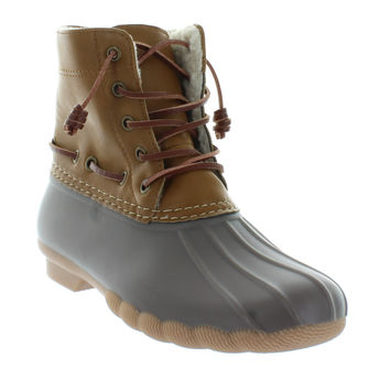 Speyside Taupe Duck Boot