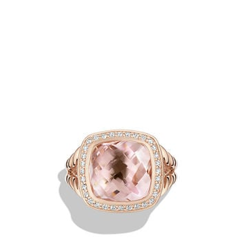 Albion Ring with Diamonds in 18K Rose Gold