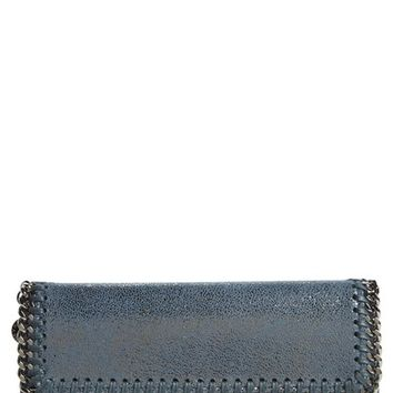Stella McCartney Shaggy Deer Faux Leather Continental Wallet | Nordstrom