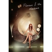 Florence and the Machine (Moon) Music Poster Print - 24x36