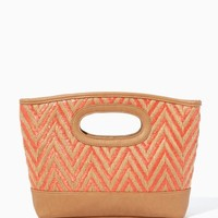 Chevron Beach Clutch | Handbags - Tropical Escape | charming charlie