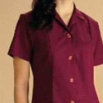Medline Ladies A-Line Tunics Poplin Two Lower Patch Pockets - Navy