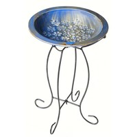 SheilaShrubs.com: Birdbath with Stand 2GB440 by Evergreen Enterprises: Birdbaths